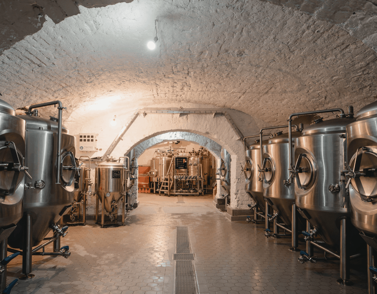 Gravity Budapest - Premier Stainless Steel Production Brewery