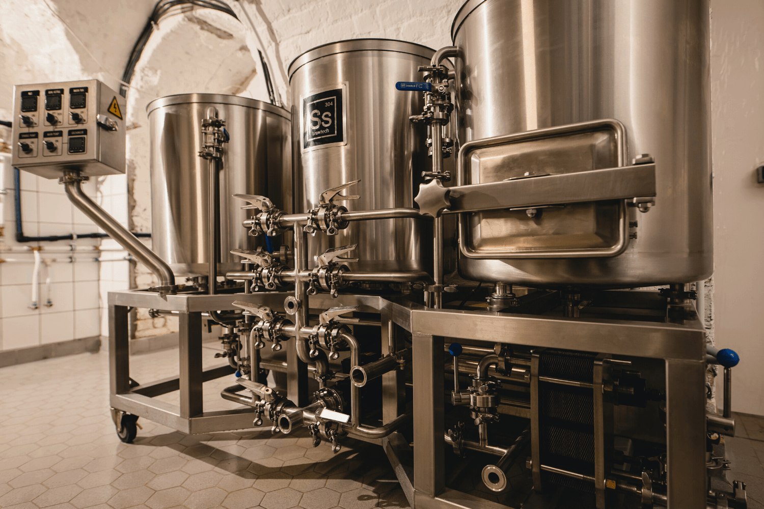 Gravity Budapest - Ss Brewtech Pilot Small Batch Brewery - 120l brewhouse