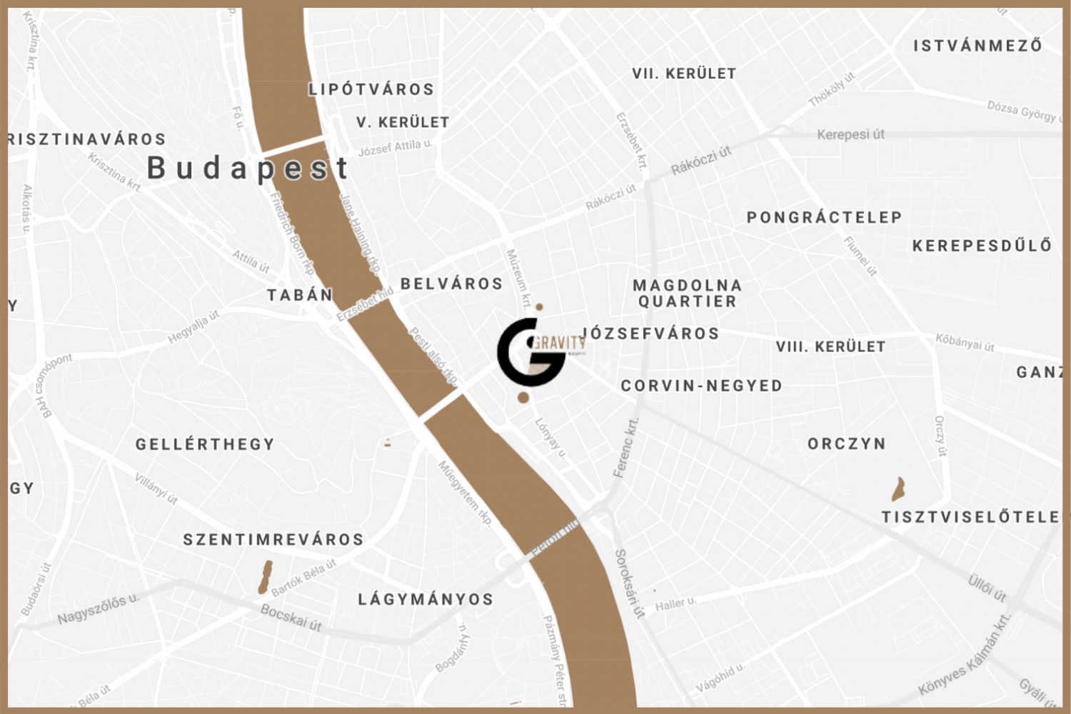 Gravity Brewing - Budapest City Center Beer - District IX Brewery and Taproom (Mobile)